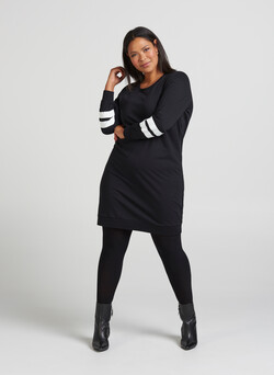 XNAYA, L/S, SWEATER DRESS