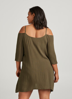 Off-shoulder tunika