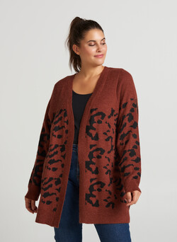 Cardigan mit Wollanteil